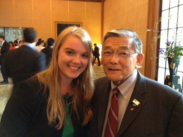 Krista and Norm Mineta